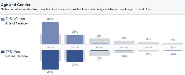 audience insight do tuoi - Hiểu sâu khách hàng với công cụ Audience Insight