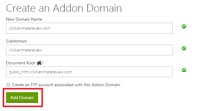 addon-domain-godaddy