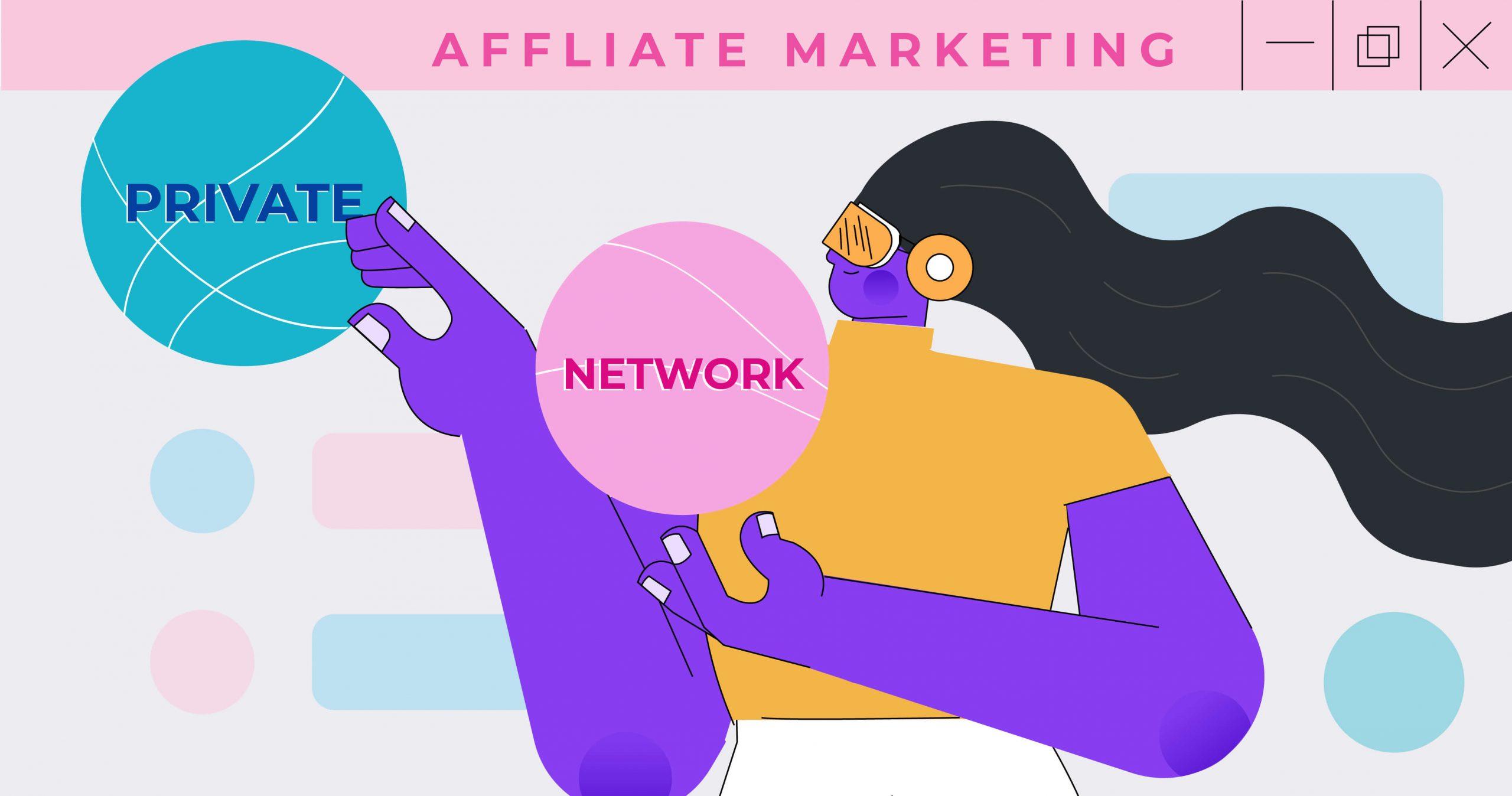 chọn private program hay public network
