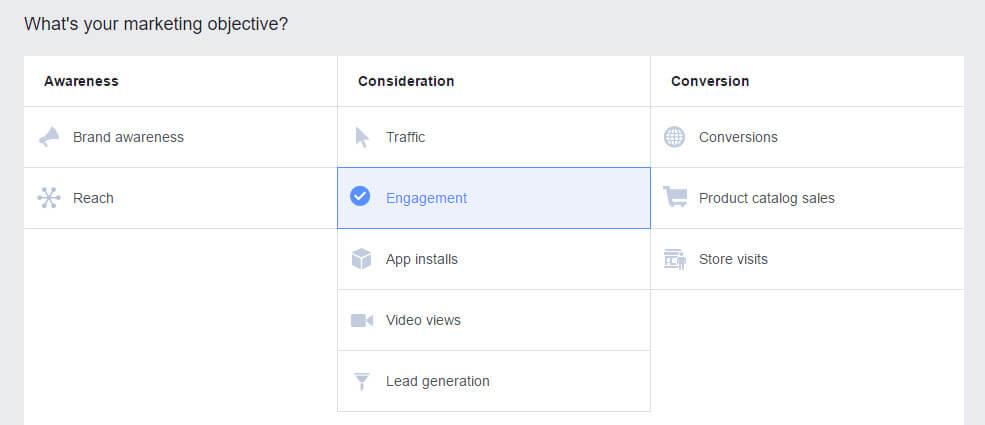 marketing object - 5 kiến thức cần nắm vững trước khi tạo chiến dịch Facebook Ads đầu tiên