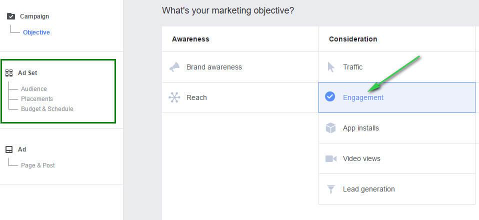 engagement ads - 5 kiến thức cần nắm vững trước khi tạo chiến dịch Facebook Ads đầu tiên