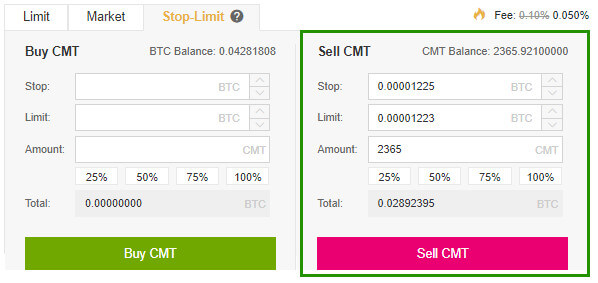 sell CMT auto