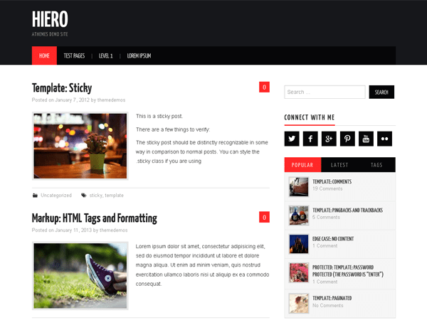 wordpress-blog-theme-mien-phi-hiero