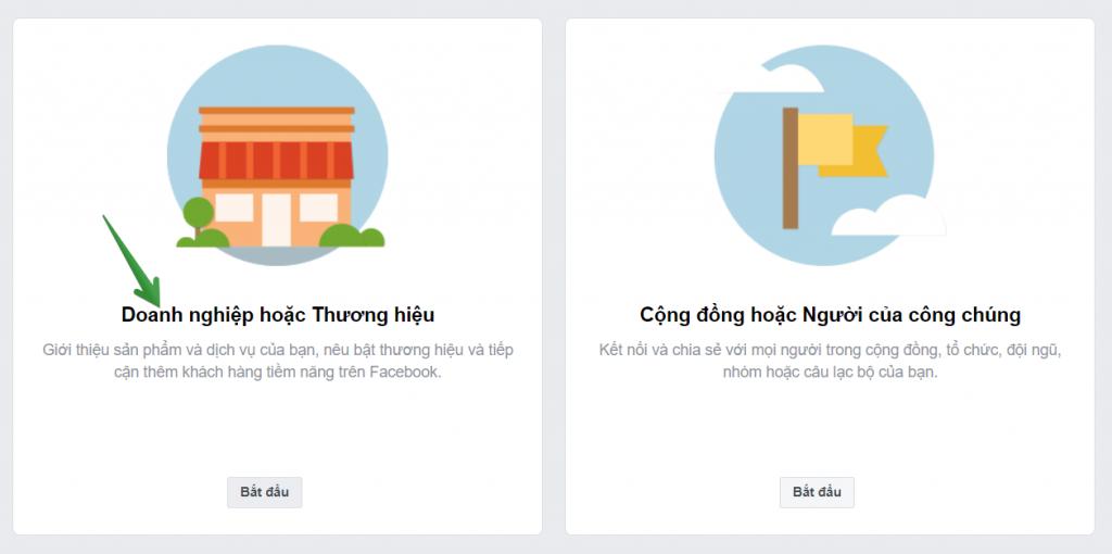 Tạo page Facebook rất đơn giản