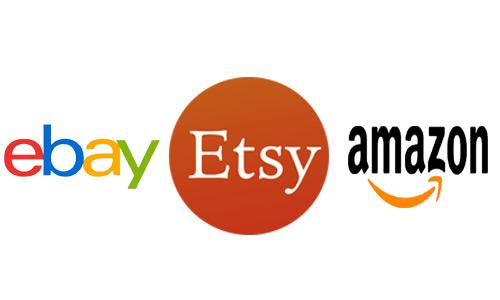 dropship ở ebay, etsy, amazon