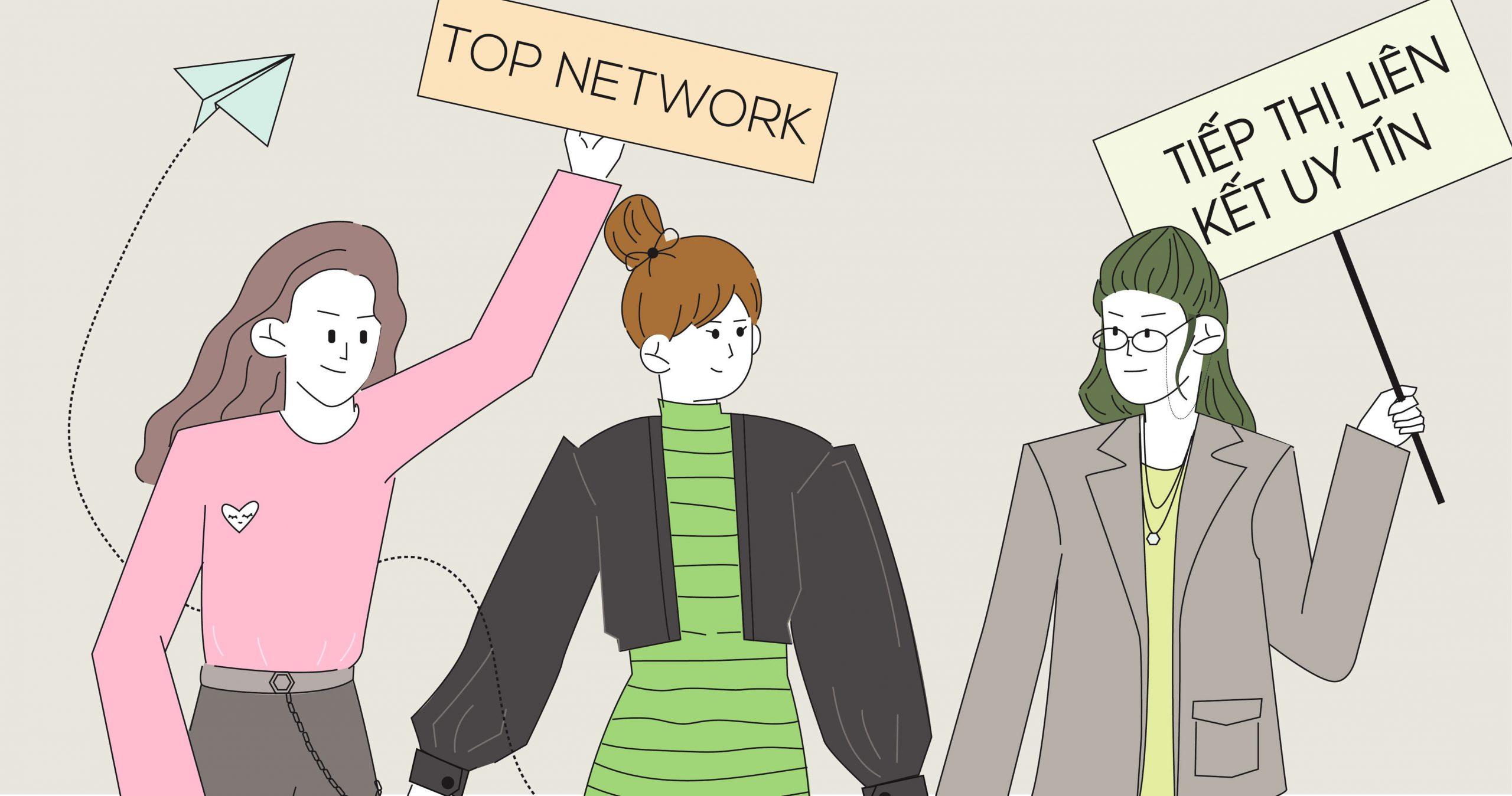 2021) 6 network tiếp thị liên kết nên tham gia & Hướng dẫn bắt đầu cho  người mới - Kiemtiencenter