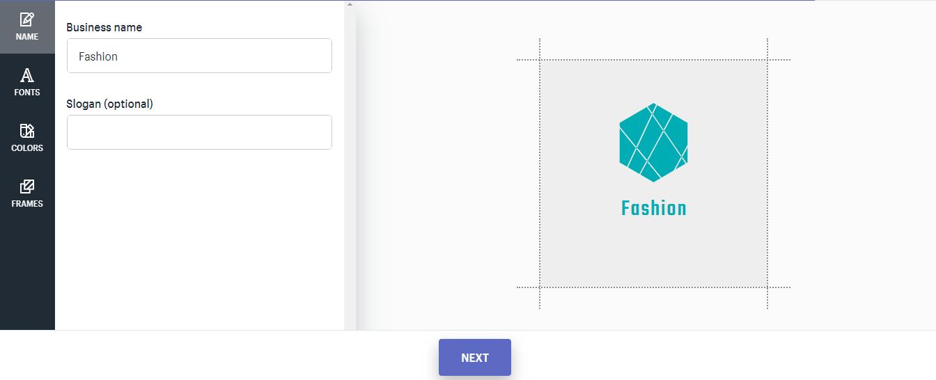 chỉnh sửa trên logo demo
