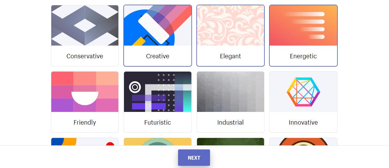 lựa chọn phong cách thiết kế logo