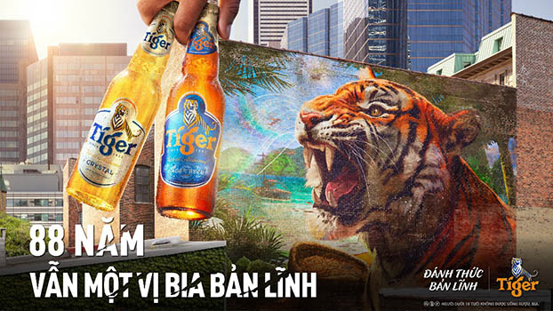 usp chiến dịch tiger beer