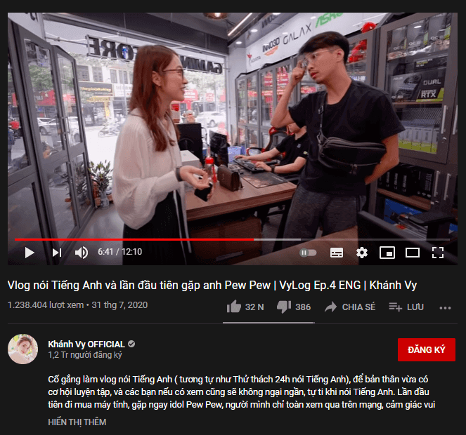 mối quan hệ tốt giúp tăng subscribe youtube
